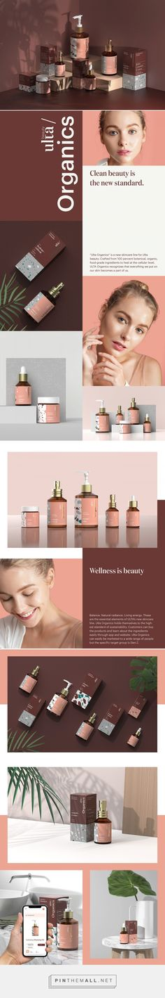 ULTA Organics Skin Care Packaging by Yozei Wu | Fivestar Branding Agency – Design and Branding Agency & Curated Inspiration Gallery  #skincare #skincarepackaging #packaging #package #packagingdesign #design #designinspiration