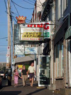 Downtown Halifax has a shopworn feel. Hair Designs, Geology, Travel Around, Hair Models