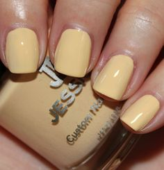 Jessica, Banana Peel - Almost like a yellow nude.