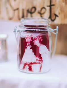 Incorporate special touches from your parents' wedding into your vintage theme!