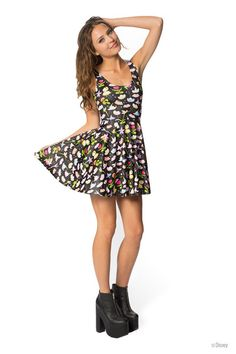 Fantasia Scoop Skater Dress › Black Milk Clothing