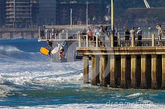 Image of public - 26725531 Large Waves, Big Waves, Durban South Africa, The Spectator, Surf City, Boarders, Pedestrian, Get Outside, Stuff To Do