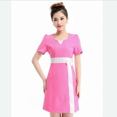 S-XXXL 2016 New Work Wear Uniforms Clothes Beautician Overalls Beauty Salon Work Clothes Nurse Uniform Pharmacy Work Clothes Fit