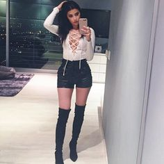 """Nicole Williams from channel E WAGS wearing our """"white body"""" bodysuit found on alyannaclothing.com! Get yours now! #wags #e"""