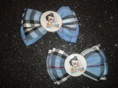 Rockabilly Skeleton Greaser Plaid Bows $6.95 (Set of 2)  http://www.mypinupcreations.com/bows.html