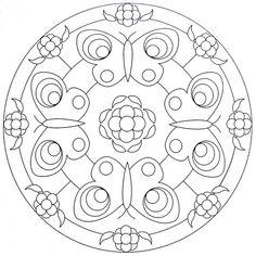 Mandala Coloring Page - Butterflies | Flickr - Photo Sharing!