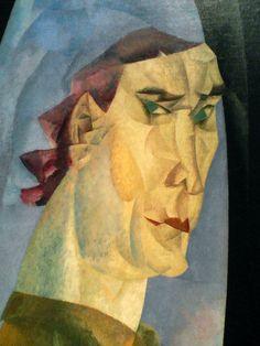 Lyonel Feininger: Self-portrait