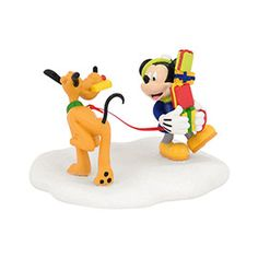 """Department 56 Mickey's Christmas Village  """"Mickey's Tangled Tango"""" new for 2014"""