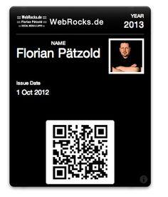 Passbook passes for webrocks