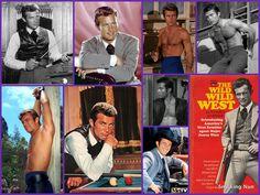 Robert Conrad as agent Jim West in The Wild, Wild West
