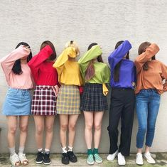 Discover recipes, home ideas, style inspiration and other ideas to try. Ulzzang Girl Fashion, Ulzzang Korean Girl, Ulzzang Couple, Matching Outfits Best Friend, Friend Outfits, Couple Outfits, Fashion Group, Fashion Outfits, Best Friend Birthday Cards