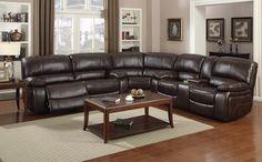 The Prescott reclining sofa set.