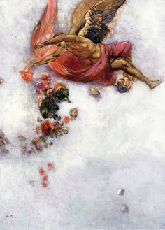Odilon Redon (1840-1916), La Chute d'Icare - nd.