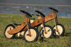 Bicicletas de madera!