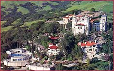 Hearst Castle in San Simeon, California is one of the largest residences in the United States. At a total square footage of 90,000 square feet, it is definitely the largest home in California.