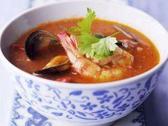 Suppe mit Meeresfrüchten ist ein Rezept mit frischen Zutaten aus der Kategorie Garnelen. Probieren Sie dieses und weitere Rezepte von EAT SMARTER!