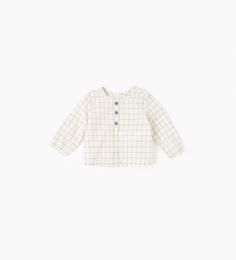 Check shirt-SHIRTS-MINI | 0-12 months-KIDS | ZARA United States