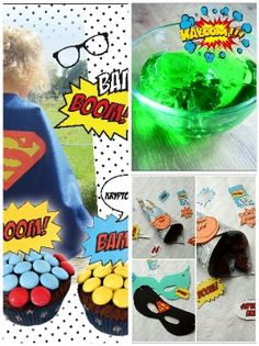 Ultimative Ideen für deine Superhelden-Party/Kindergeburtstag