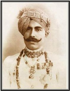 Maharaja Sir Ganga Singhji of Bikaner. Born: 13th Oct. 1880Demise: 3rd Feb. 1943.
