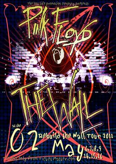 Pink Floyd - The Wall tour 2011