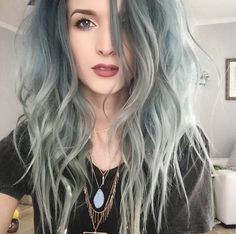 Serious hair envy faded out mermaid x