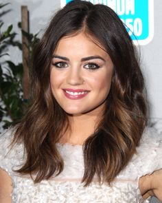 Lucy Hale's hair is perfection.