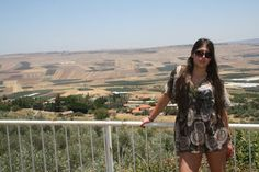 Stylish Israeli Girl Outside Picture