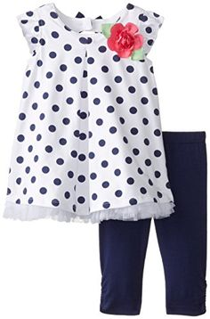 Little Me Baby-Girls Infant Navy Dot Tunic and Capri Set, Navy/White, 18 Months Little Me http://www.amazon.com/dp/B00OA5AQRI/ref=cm_sw_r_pi_dp_Yf8fvb0E3YZZ8