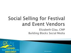 Social Selling for Festival and Event Vendors