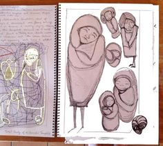 CAPI Raw Sketchbook Assignment 1 Form Association: CAPI Raw Sketchbook Assignment 1 Form Association  Free Form Association.  I found this exercise a valuable tool for loosening my mind and hand and allowing