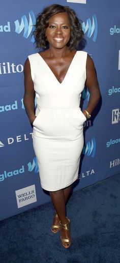 'How to Get Away With Murder's' Matt McGorry, Jack Falahee and Viola Davis at the 2015 GLAAD Media Awards