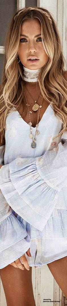 ≫∙∙☮ Bohème Babe ☮∙∙≪• ❤️ Curated  by Babz™ ✿ιиѕριяαтισи❀ #abbigliamento #bohojewelry #boho #Coachella