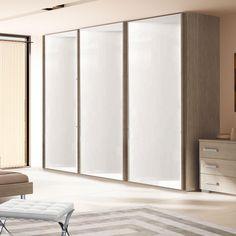 Casa, Arredamento E Bricolage Armadio Scorrevole Master 3 Ante Con Anta Centrale A Specchio Laccato Bianco With The Best Service