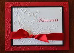 04/11/2012  Happiness Elegant Lines Embossing Folder