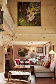 Maldeghem Chalet, Klosters resort, Switzerland, alpine style