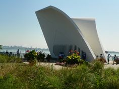 Postcards is an outdoor sculpture in the St. George neighborhood of Staten Island, New York City, US. Built in 2004, it is a permanent memorial honoring the 274 Staten Island residents killed in the September 11 attacks of 2001 and in the 1993 World Trade Center bombing.[