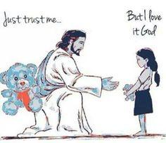I trust u God