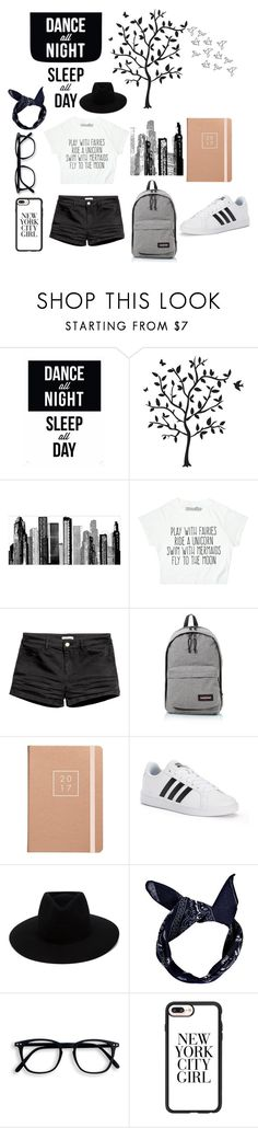 """""""Simple but FABULOUS"""" by gracy-jk ❤ liked on Polyvore featuring Godinger, RoomMates Decor, Eastpak, adidas, rag & bone, Boohoo and Casetify"""