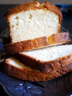 Condensed Milk Coconut Pound Cake