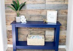 DIY Narrow Hallway Table – Plus Free Plans!