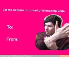 valentines video dan and phil