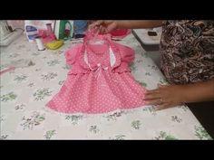 COMO FAZER BOLERO INFANTIL MOLDE GRÁTIS - YouTube