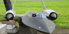 Blackbird Remote Control Turbine Jet