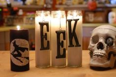 Spooky Candle DIY · Candle Making | CraftGossip.com