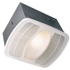 Deluxe Exhaust Fan w/Light and Night Light - 100 CFM@ 2.5Sones Home Depot Canada
