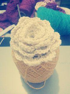 Flor em crochê 😊🌼🌻🌼🌻