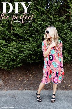 Drafting the Perfect Swing Dress