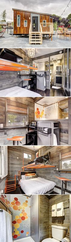 Modern Tiny House (150 sq ft)