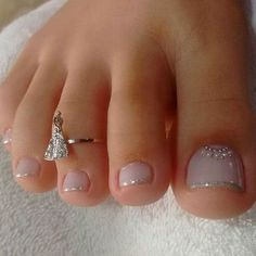 Looking for easy nail art ideas for short nails? Look no further here are are quick and easy nail art ideas for short nails. nails near me salon nails nails salon nails Continue Reading → Pedicure Designs, Manicure E Pedicure, Toe Nail Designs, Pedicures, French Pedicure, French Toe Nails, Jamberry Pedicure, French Tip Toes, Glitter Pedicure