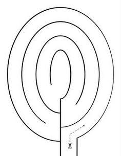 Free Preschool Printable: Cutting Mazes. Help improve your child's scissor skills with these fun cutting mazes.